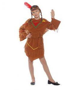 Disfraz de India Pocahontas para niña