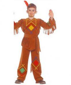 Disfraz de Indio Jerónimo para niño