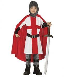 Disfraz de caballero cruzado