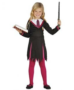 Disfraz de estudiante de magia niña