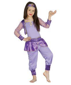 disfraz de bailarina oriental para niña