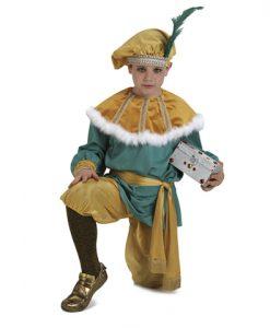 Disfraz de paje Paje de Melchor