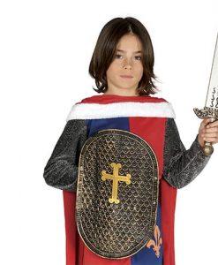 Escudo con espada infantil