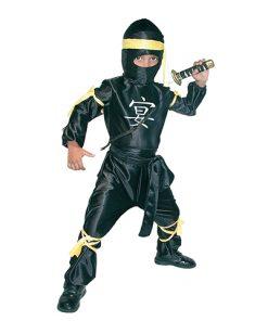 disfraz de ninja yellow para niño