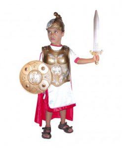 disfraz de romano deluxe para niño