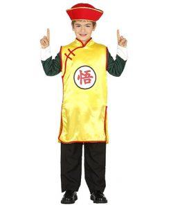 Disfraz luchador asiático