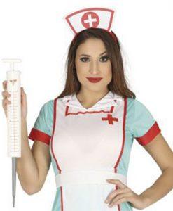 jeringa de enfermera