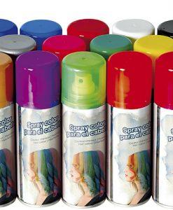 spray de color para el pelo