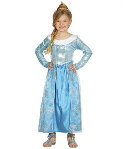 Disfraz de princesa escarchada para niña