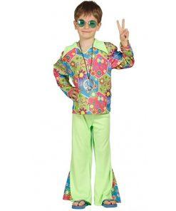 disfraz de hippie boy infantil