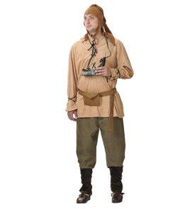 Disfraz de campesino medieval