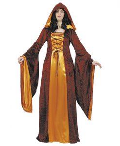 Traje de dama medieval