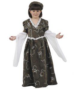 Disfraz de Doña Jimena para niña