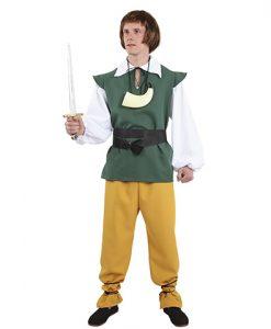 disfraz de aldeano medieval