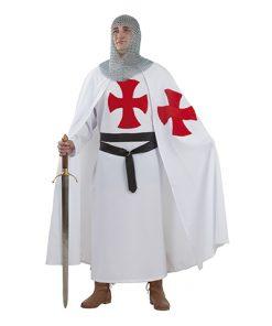 Disfraz de templario