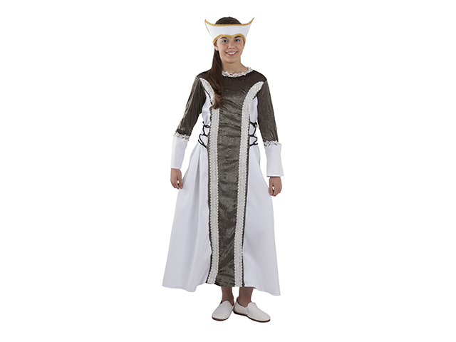 Disfraz De Isabel I Para Niña Disfraces Medievales En No Solo Fiesta