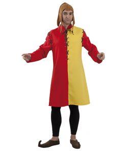 túnica medieval para adulto