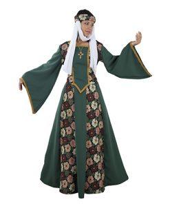 Disfraz de princesa medieval