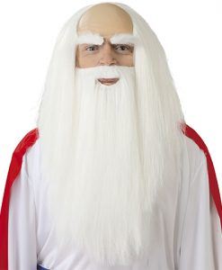 peluca y barba de druida panoramix