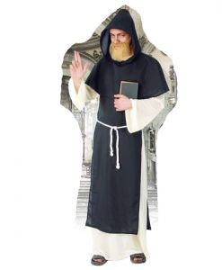 Disfraz de fraile Dominico