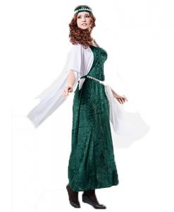 Disfraz de dama medieval adulta