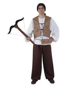 Disfraz de cazador medieval