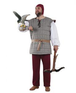 Disfraz de cetrero medieval