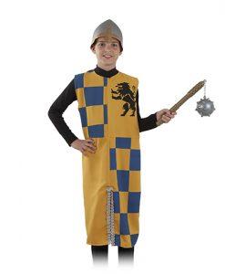 sobrevesta medieval infantil