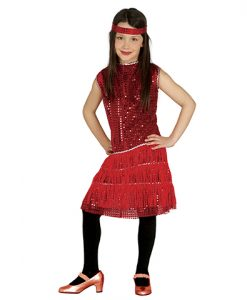 disfraz lady Charleston para niña
