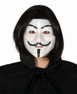 Máscara de justiciero V de Vendetta