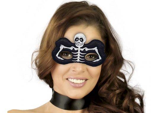 Antifaz de esqueleto