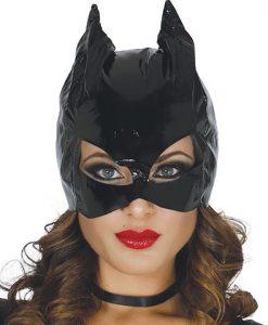 Máscara de mujer gato