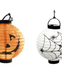 Farol Halloween con luz led