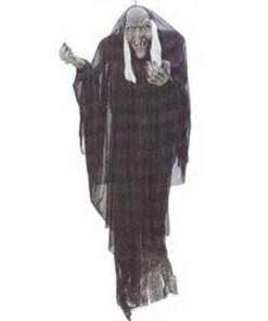 Decoración colgante bruja Halloween
