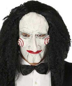 Máscara con pelo Saw