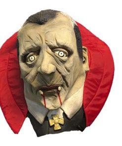 Máscara Drácula con cuello