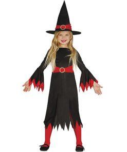 Disfraz de bruja red little witch