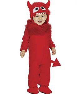 Disfraz de diablo rojo bebé