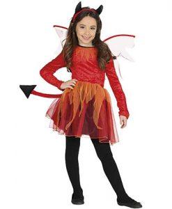 Disfraz de diablesa con tutú