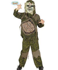 Disfraz de zombie tripas