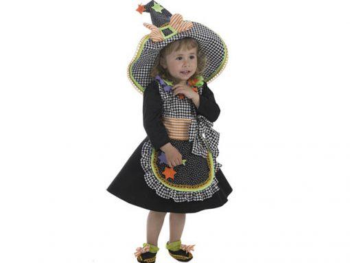 Disfraz Bruja Candela Para Bebe Disfraces No Solo Fiesta - Disfraz-de-bruja-para-bebe