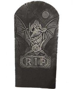 Lápida RIP gárgola