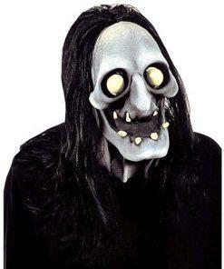 Máscara bruja zombie