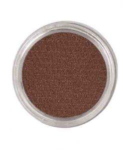 Maquillaje al agua marrón
