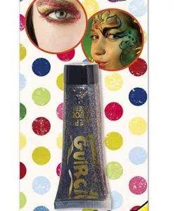 Maquillaje crema glitter multicolor
