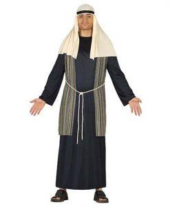 Disfraz San Jose pastor azul