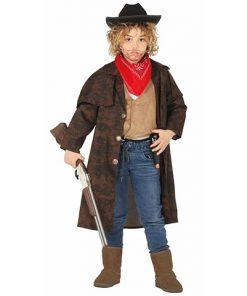 Disfraz Abrigo de Cowboy niño