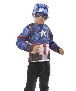 Disfraz capitan américa niño