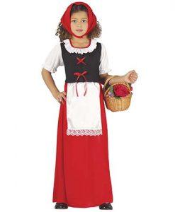Disfraz pastora roja