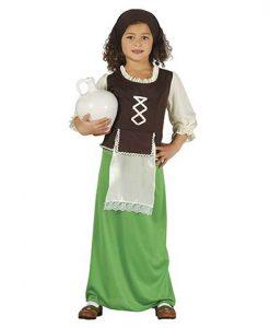 Disfraz de pastora verde